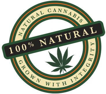 100% Natural Cannabis Grown With Integrity