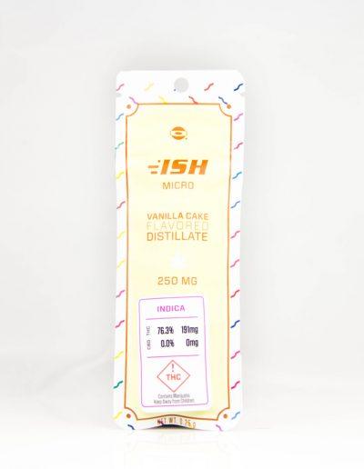 open vape ish 250mg vanilla cake cartridge