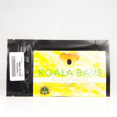 koala bar cannabis banana pudding