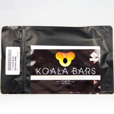 koala bar cannabis bourbon pecan