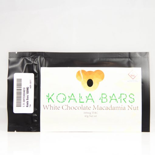 koala bar cannabis white chocolate macadamia nut