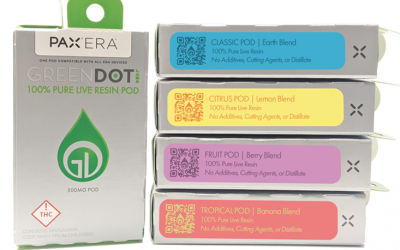 PAX ERA Live Resin Cannabis Pods