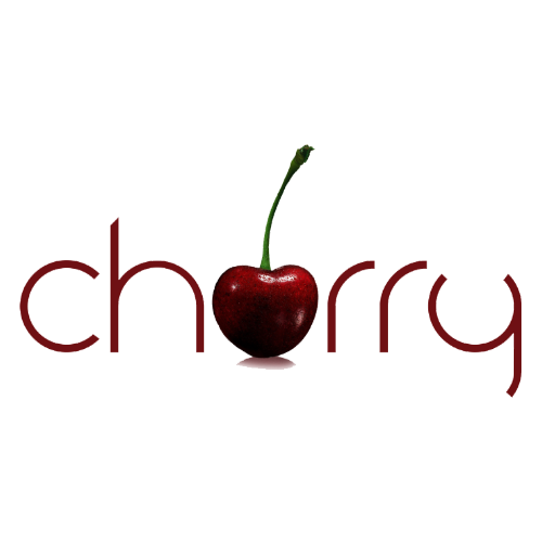 Cherry cannabis flower logo