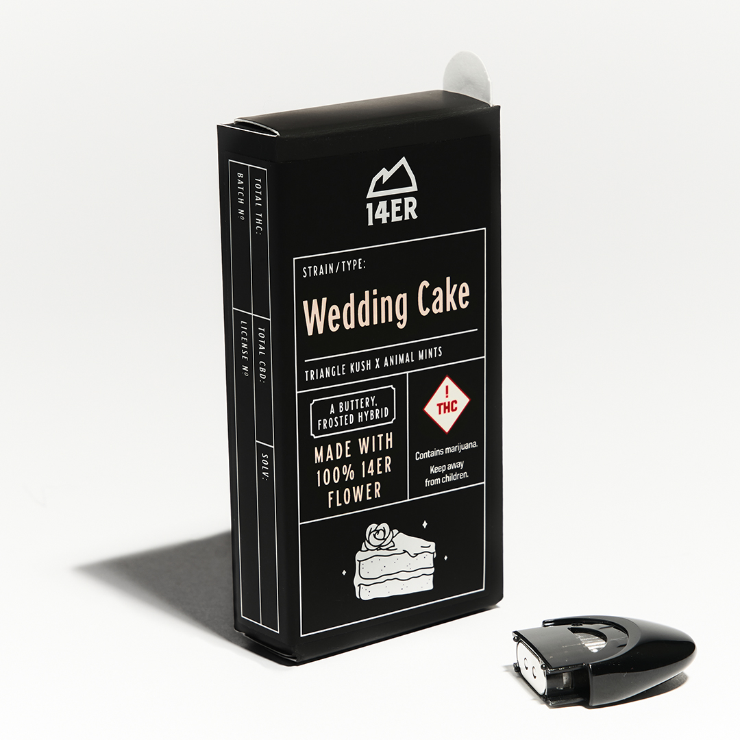 14'er Flint Pod - Wedding Cake
