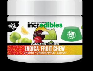 Incredibles Gummies - Indica Fruit Chew