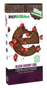 Incredibles Edibles Black Cherry CBD Bar