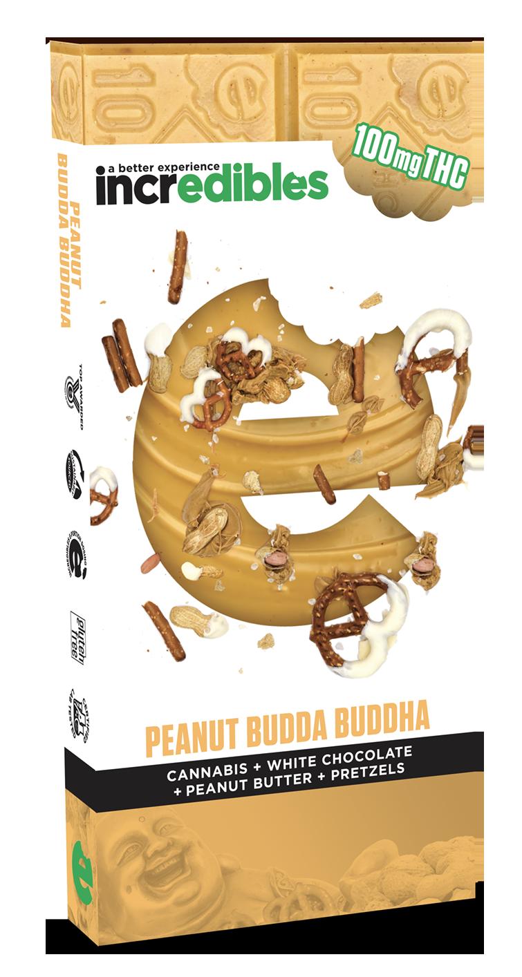 Incredibles Edibles Peanut Budda Buddha Bar