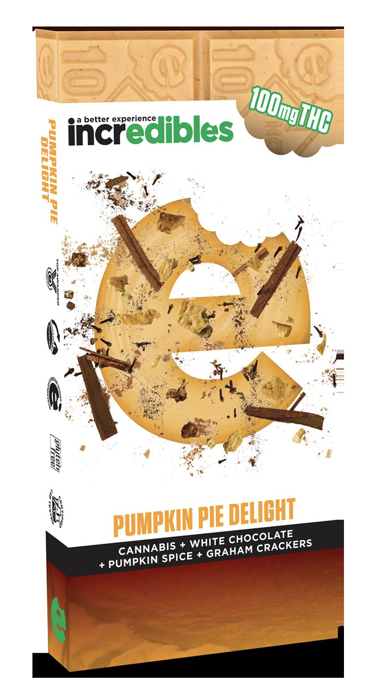 Incredibles Edibles Pumpkin Pie Delight Bar