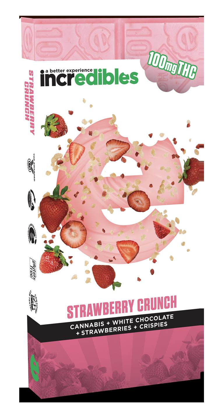 Incredibles Edibles Strawberry Crunch Bar