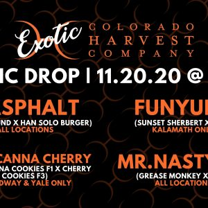 Exotic Cannabis Drop 11.20.20