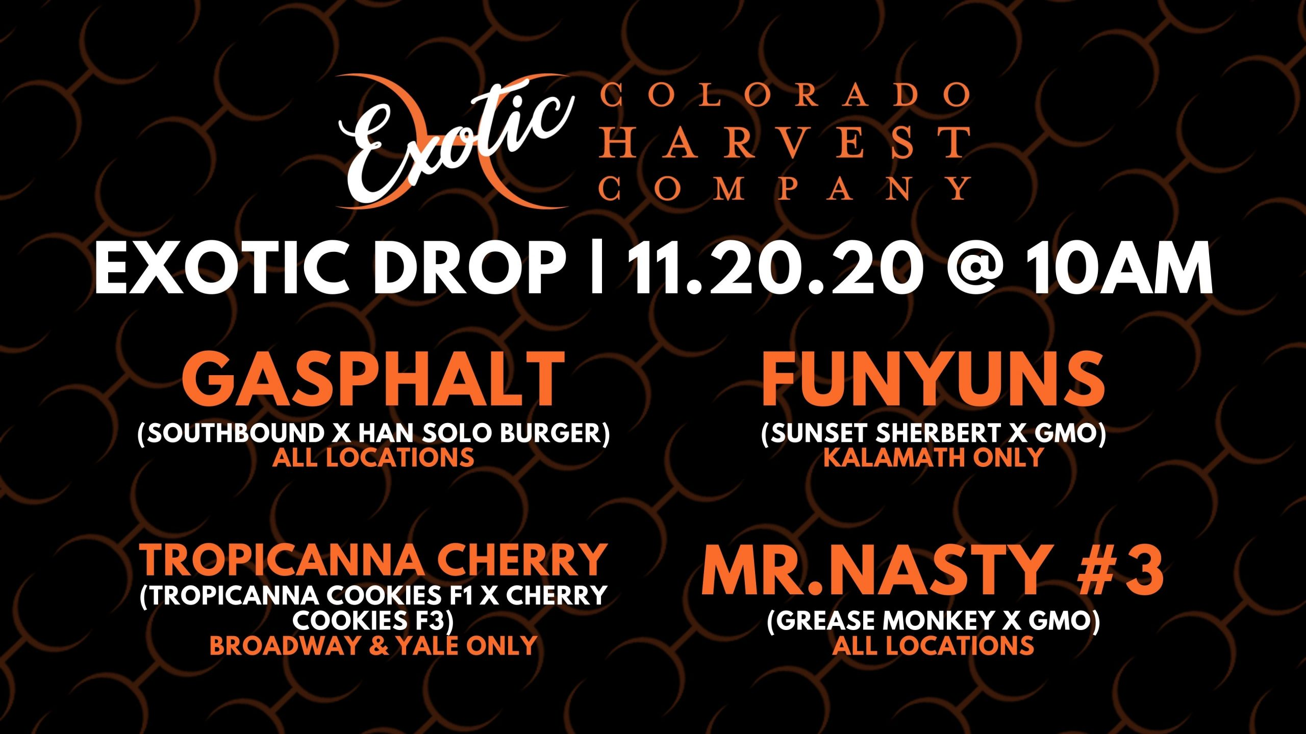 Exotic Cannabis Drop 11.20.20