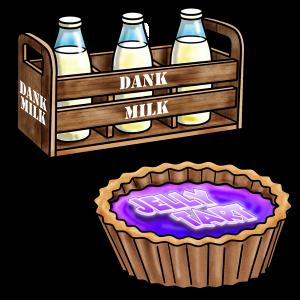 dank milk jelly tart1