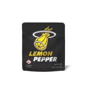 Lemon Pepper Cookies Flower