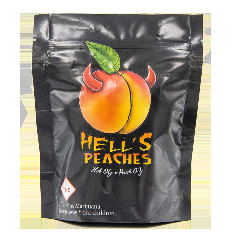 hells peaches exotic strain bag