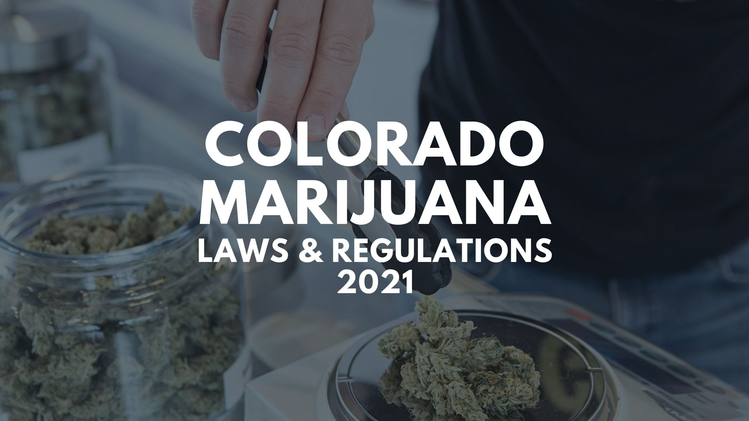 Colorado Marijuana Laws and regulations