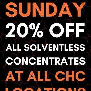 Solventless Sunday