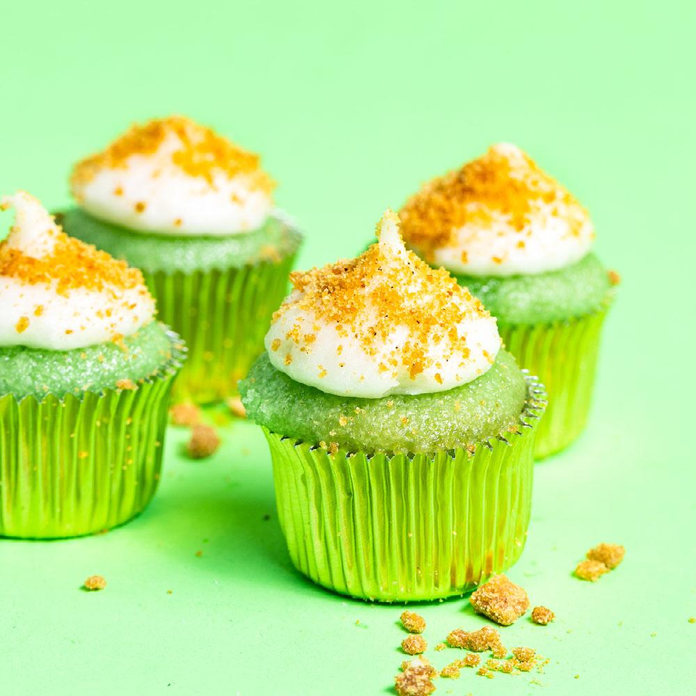 cannabis Key Lime Coconut Mini Cupcake